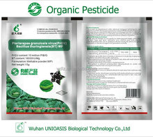 Biological pesticide for organic plants PrGV bacillus thuringiensis WP