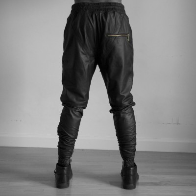 high quality mens leather pants with zip,Most Fashionable Mens Leather Pants 2013,Wholesale genuine leather pants men
