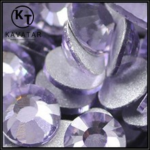Best Price ! Bling bling Lt Amethyst hot fix stones wholesales