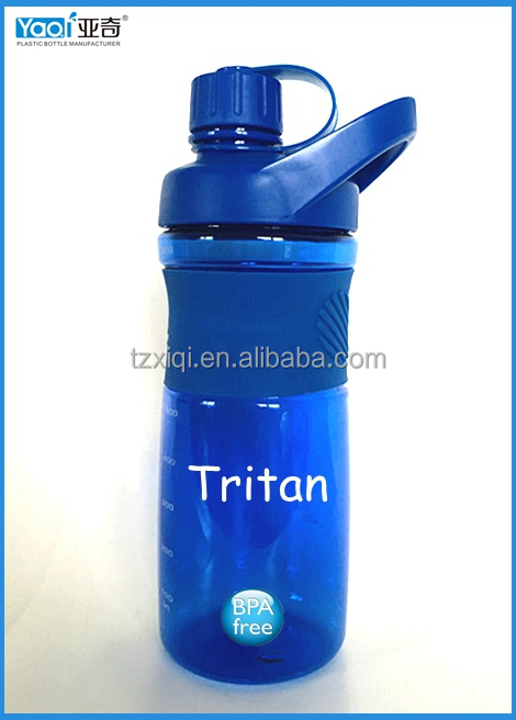 800ml BPA free plastic shaker water bottle sport bottle