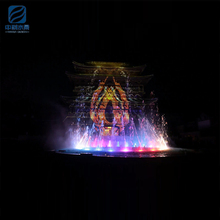High quality park entertaining anti-rust water show music dancing fountain