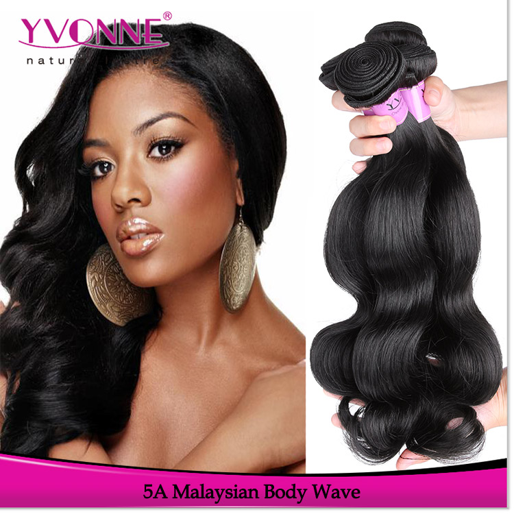 Factory price human wavy hair remy virgin malaysian hair body wave