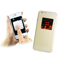 pu silicone gel sticky mobile phone cleaner pad