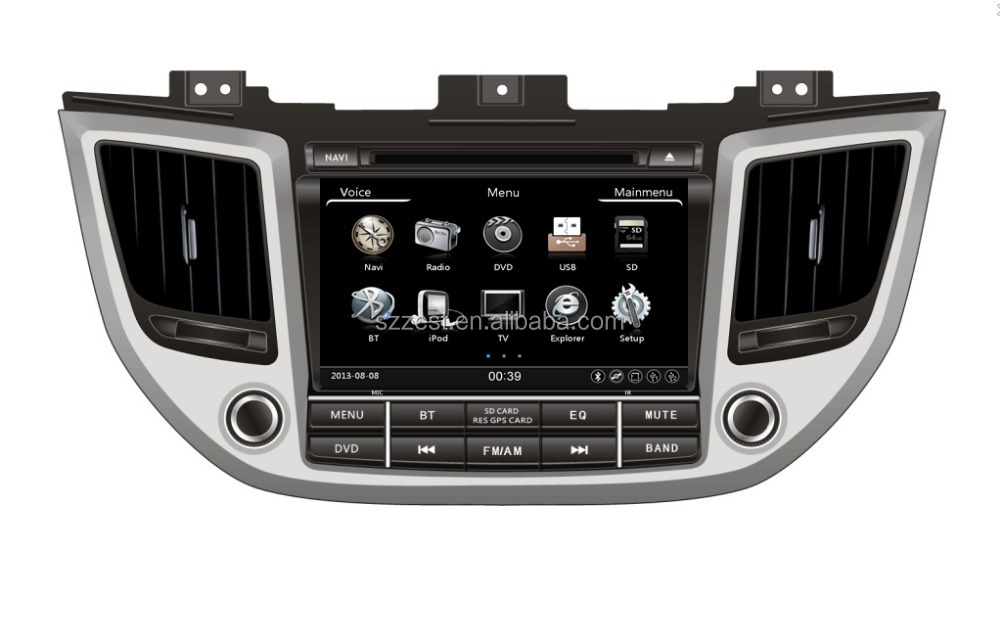 2015 New high quality special dashboard for Hyundai IX35/Tucson car DVD player GPS Navigation system