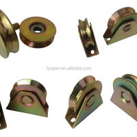Industrial Metal Sliding Door Hardware