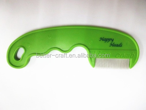 stainless steel needle lice comb pet brush nit comb for kids and pet