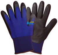 Super Touch Nylon Coated PU touch screen gloves 18 Guage nylon