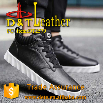pu artificial leather for man shoes