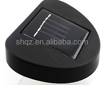 Solar Power LED Path Wall Landscape Mount Garden Fence Light mold manufacturer