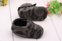 Hot selling fancy kids baby moccasin shoes pu tassel 0-1 years baby boy shoes