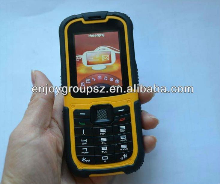 ip67 waterproof for military OUTDOOR 3g wifi feature phone