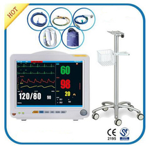 CE Marked 12 Inch TFT Dispaly Multi-Parameter Ambulance Patient Monitor for Adult,Pediatric and Neonate