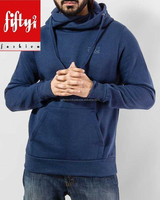 Blue Muffler Type Fashionable Sexy Hoody For men 2015