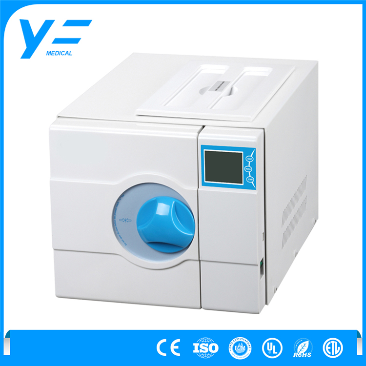 8L Dental LCD Display Drying Vacuum Autoclave Equipment