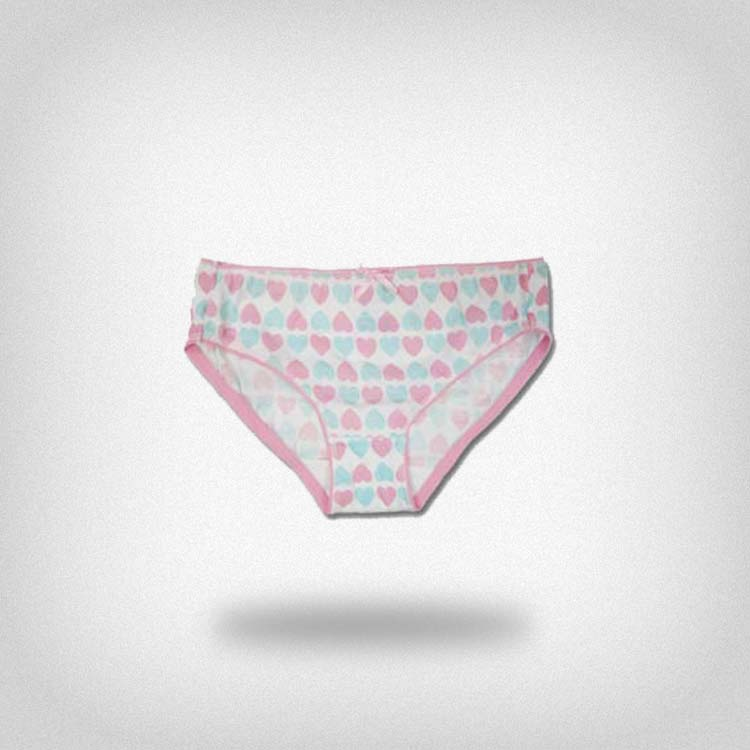 OEM Factory colorful love print pink lace mature ladies underwear