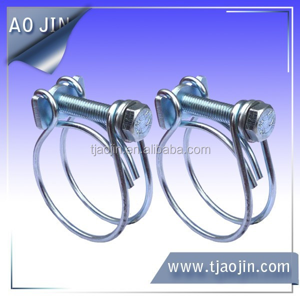 Double wire spring hose clamp buy wires