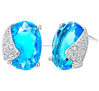 2014 wholesale rhinestone women fashion earring