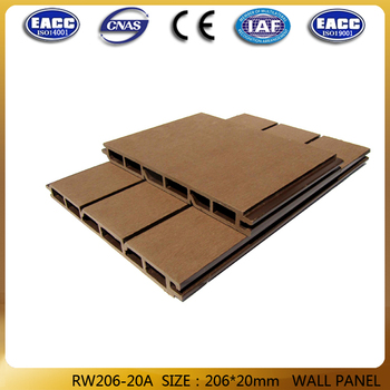206*20mm WPC wall panel,WPC wall cladding