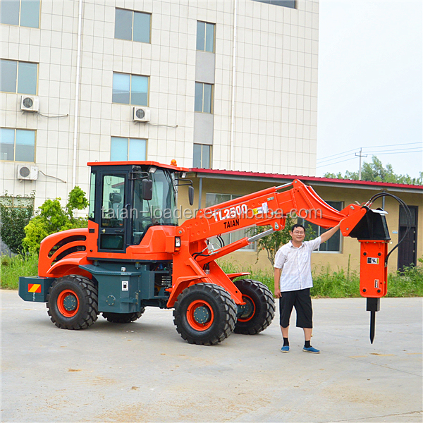 Small earth moving machinery loaders TL2500 wheel loaders machine