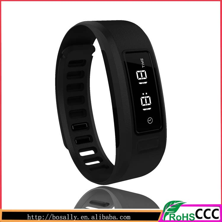 Wholesale fashion sports slim digital Multi-functional bluetooth silicone watches in 2016