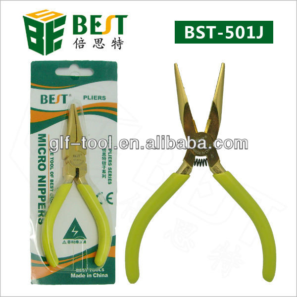 BEST-501J Gilded multi-function long nose plier