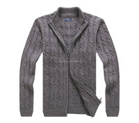 mens high quality anutumn &winter wool cardigan sweater