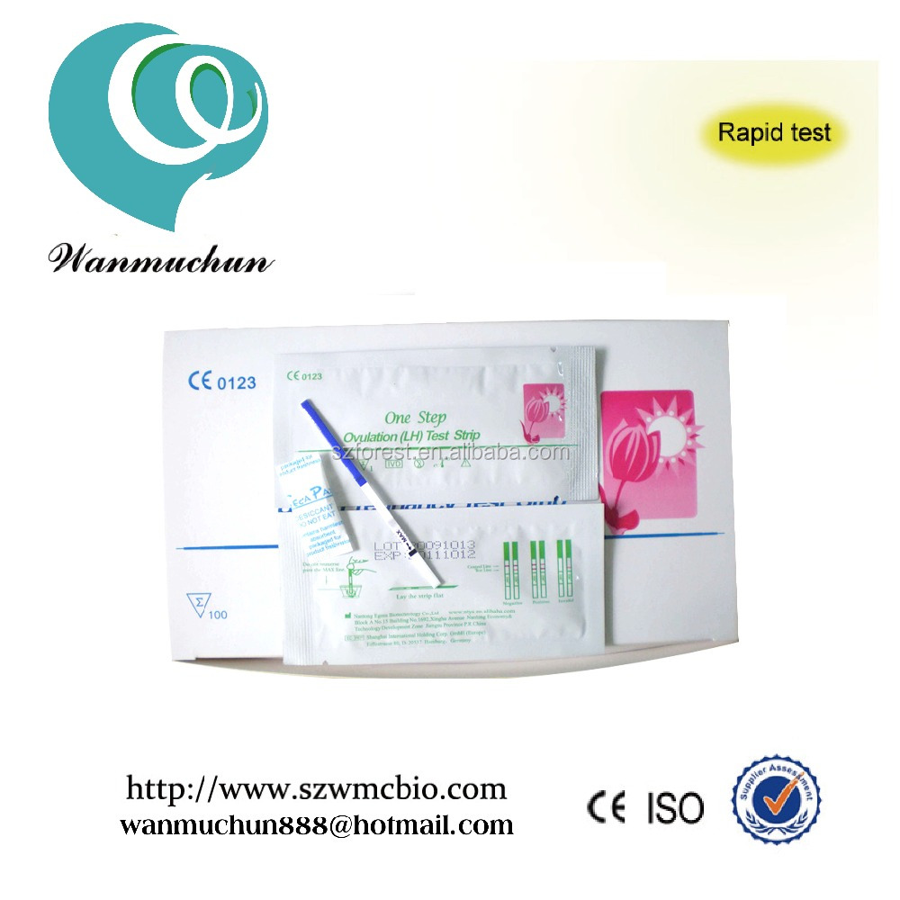 Pregnancy test strip / One step HCG Rapid test / fertility pregnancy rapid test kits