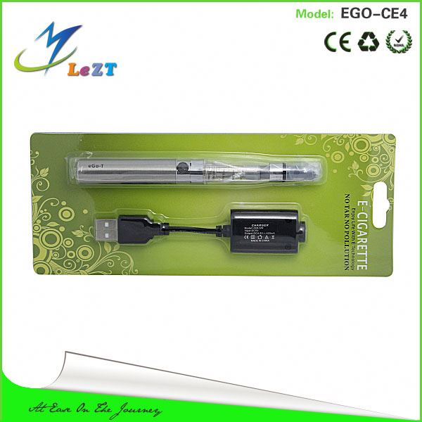 E cigarette colorful wholesale EGO-C Twist battery ego twist with bilster packing and ce4/ce4+v3 clearomizer and twist battery