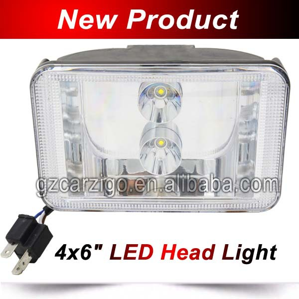 3600 3700K warm white 4x6 inch ambulance boat accessories Rectangle rock-bottom price led work light off road light