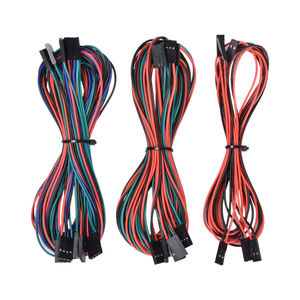 Shenzhen Jumper Wire and Dupont Cable 2pin 3pin 4pin 70cm Female to Female for 3D printer parts