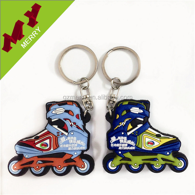 Eco-friendly custom key chain / pvc keychain wholesale
