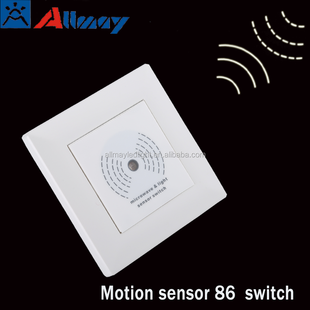 Cost inductive proximity motion sensor light switch 86 200w home automatic lighting switch