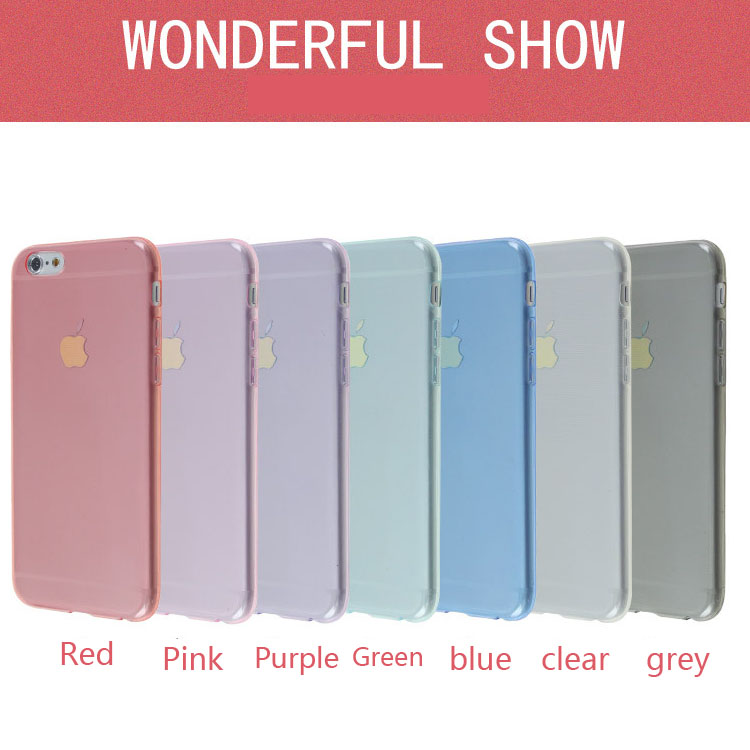 For moto G3 cell phone TPU case for moto XT1550 7 colors