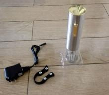 stylish electric wine opener corkscrew bottle opener