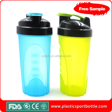 BPA free high quality 600ml protein shake blender joyshaker bottle with screw cap