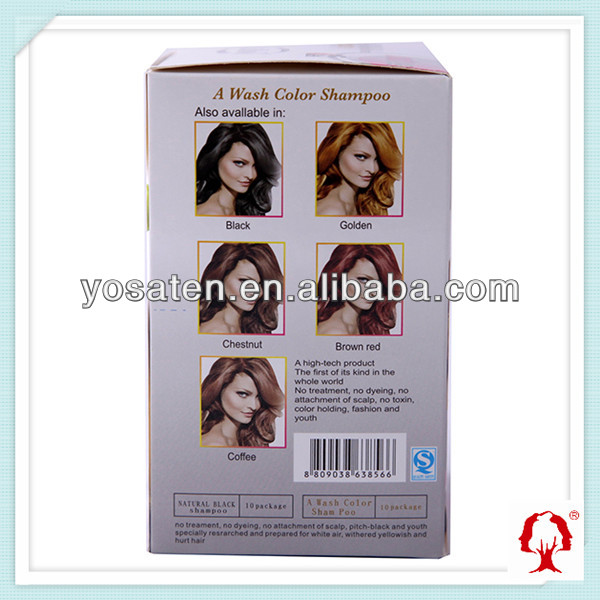 Hair Color Cream Professional Hair Dye Color Bio Hair Shampoo