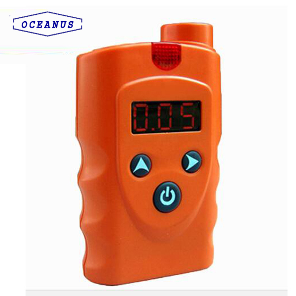 Portable Infrared Methane CH4 gas detector for Mining use