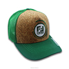 Custom Cork baseball Cap trucker cap with Custom logo .