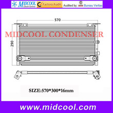 high quality air cooler evaporator for toyota HILUX 02' - 04 OEM 88460-35280 wholesale