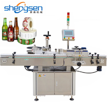 Adhesive Label Beer Bottle Labeling Machine
