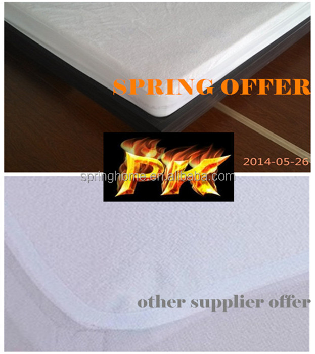 PU laminated fabric, cotton terry fabric with PU