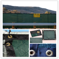 virgin hdpe material debris fence netting with uv protection