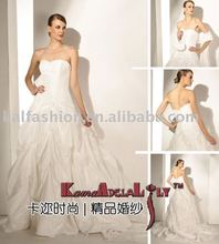 EB1463 Hot sale princess nice Wedding dress flounce skirt evening dress