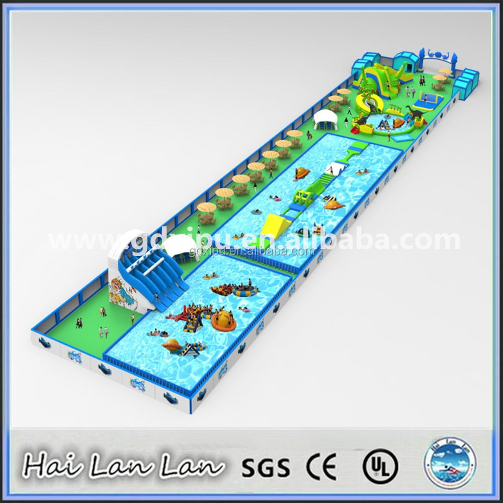 Design Drawing Kids Water Play Theme Park