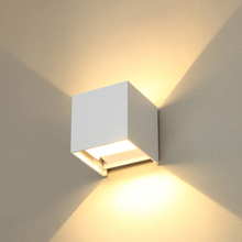 Outdoor Angle Adjustable Modern Style IP65 LED Lighting Fixture Wall Light for Garding