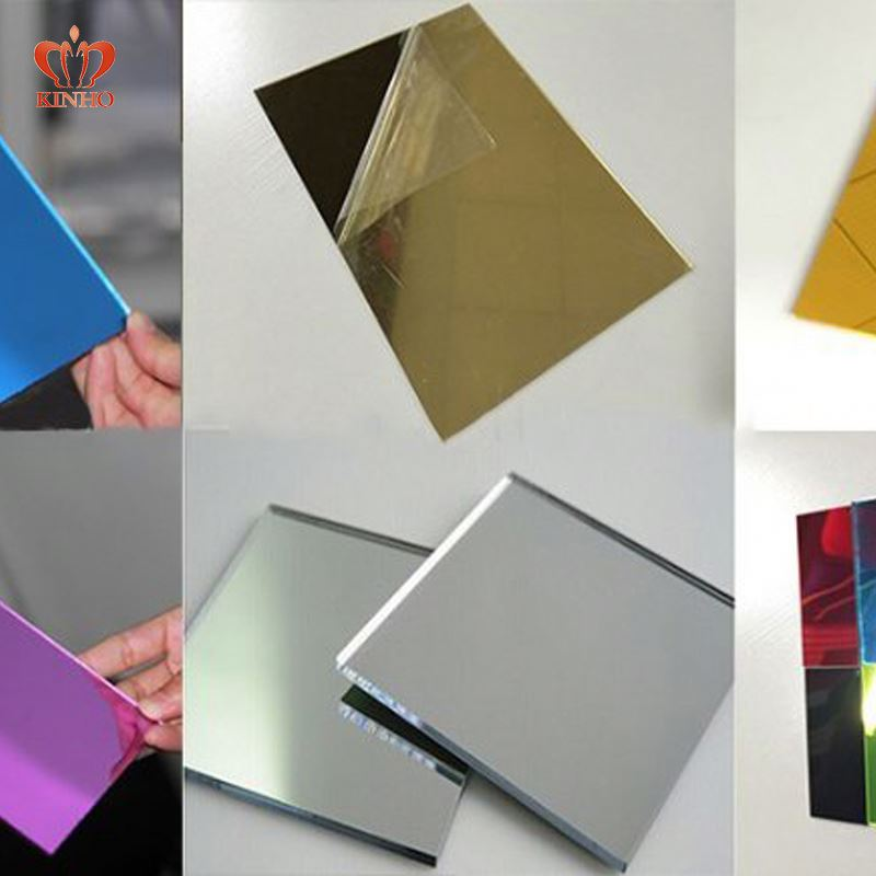 3mm thick plastic sheet/gold mirror acrylic sheet