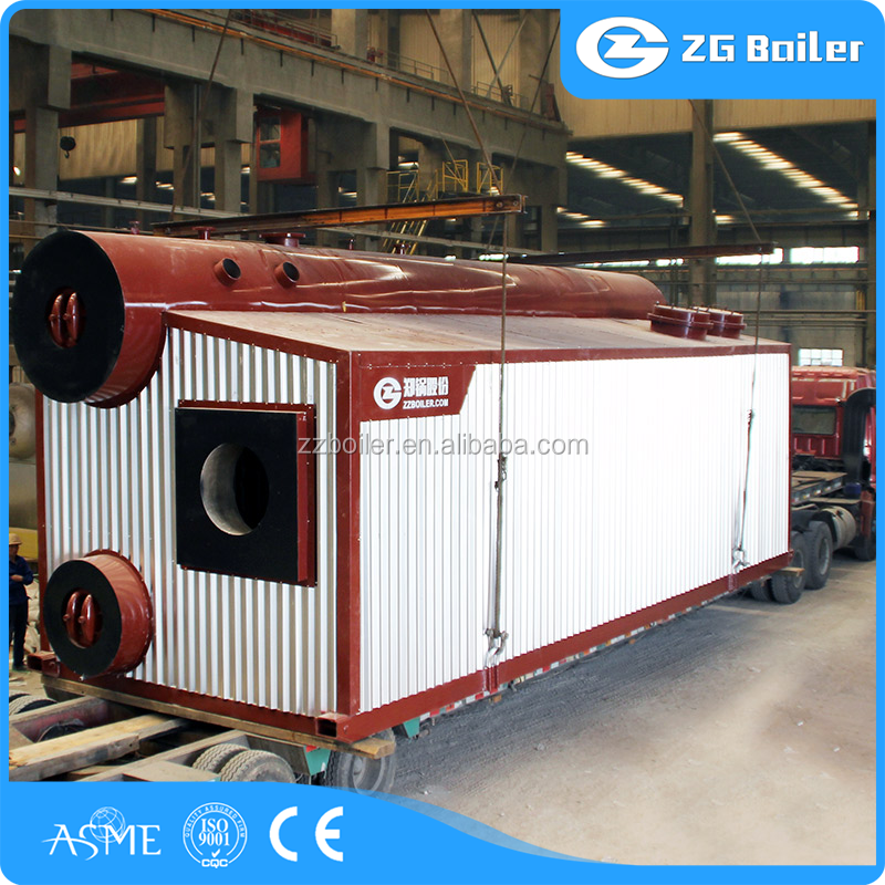 Factory since 1945 for low gas steam boiler Chile