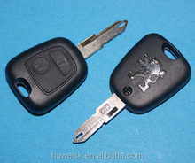 SK-806 original Peugeot remote car key cover with 2 buttons