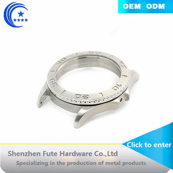 CNC stainless steel metal watch case