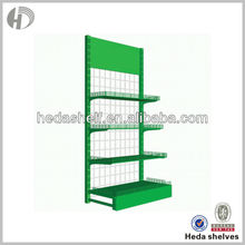 Supermarket Steel Display Wire Shelves Wire Mesh Shelves